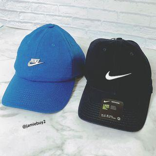 Nike 老帽 棒球帽 logo 藍 鴨舌帽 金屬logo