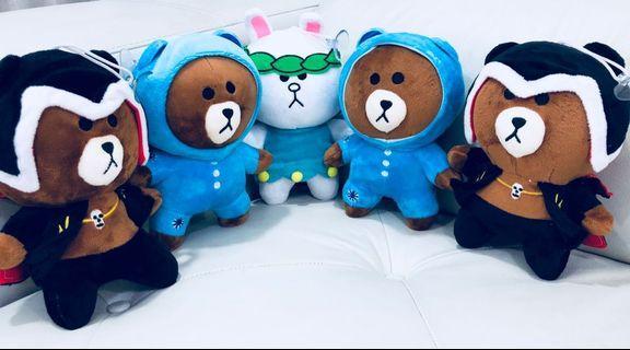 Brand new LINE soft toys