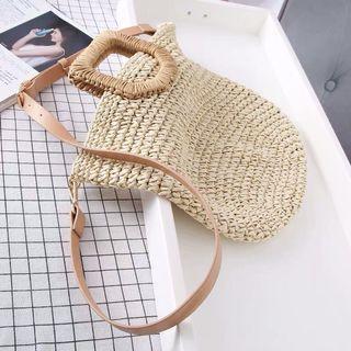 Zara Straw Tote Bag