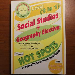 O-Level Social Studies + Geography Elective HotSpots
