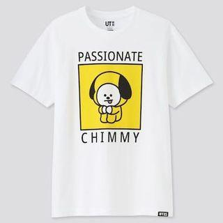 BT21 x Uniqlo Passionate Chimmy T shirt