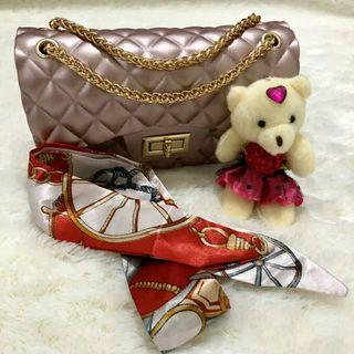 Tas Jelly Rose Gold
