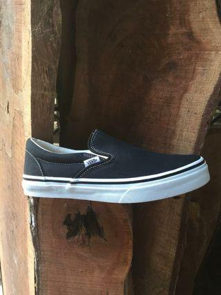 Vans Slipon Black White Classic Japan Market
