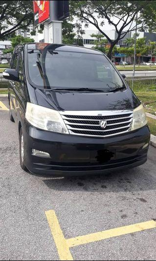 Toyota alphard 2.4 2007 collections