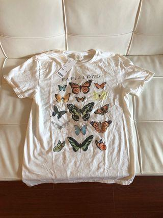 BNWT Urban Outfitters Butterfly Top