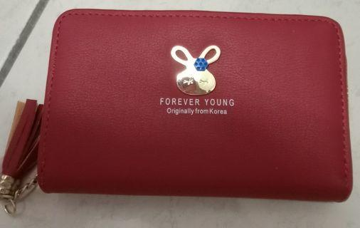 Red wallet ferever young