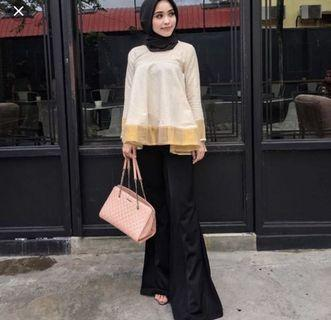 Shawlpublika Cyna cream doll top