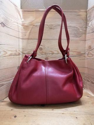 Authentic Marie Claire leather hand bag