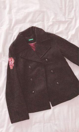 United Color Of Benetton Jacket (Black)