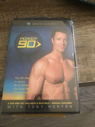 Beachbody Power 90 2 DVD set