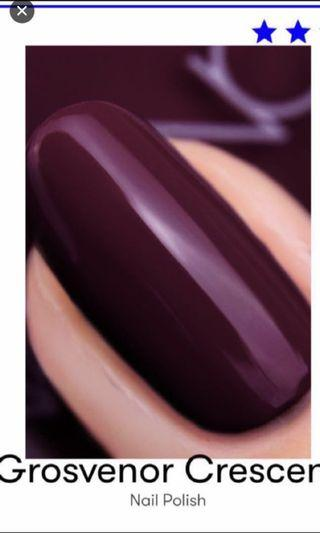 Brand New Naisinc Gel Effect Grosvenor Crescent Nail Polish