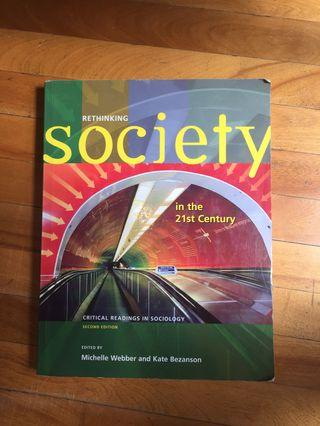 Rethinking society in the 21st century: critical readings in sociology second edition Webber