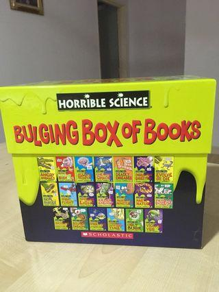 Horrible Science- bulging box books