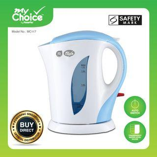 Kettle - My Choice by PowerPac 1.7L Kettle Jug with Auto Switch (MC117)