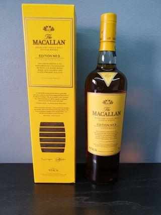 Macallan Edition 3 (750ml)