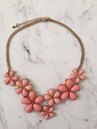 Blush Flower Necklace