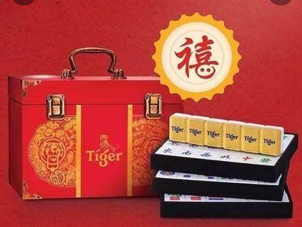 Tiger CNY Mahjong Set (limited edition)