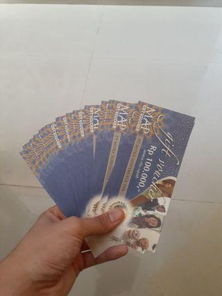 Dijual Voucher MAP 100Rb