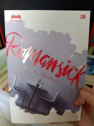 Novel Metropop Romansick by Emilya Kusnaidi