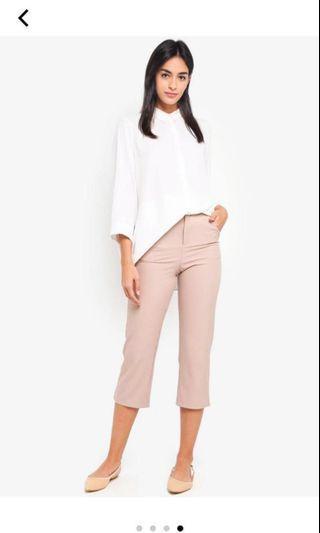 Vero Moda 3/4 Long Shirt in White
