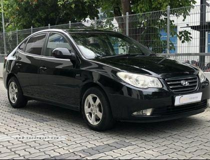 Hyundai Avante for rent