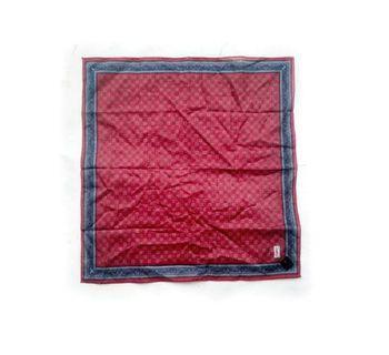 Yves Saint Laurent red handkerchie