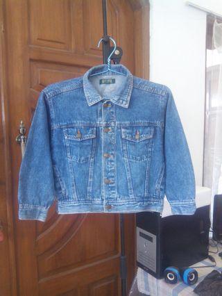 Jaket Jeans Untuk anak - anak asli Merek Fair Catch .