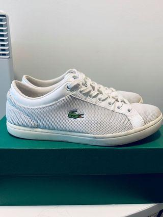 Lacoste Sneakers Straightset White