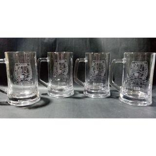 Beermugs with etched design