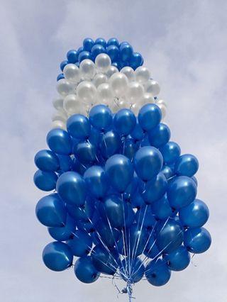 Helium balloon tower 6 layer