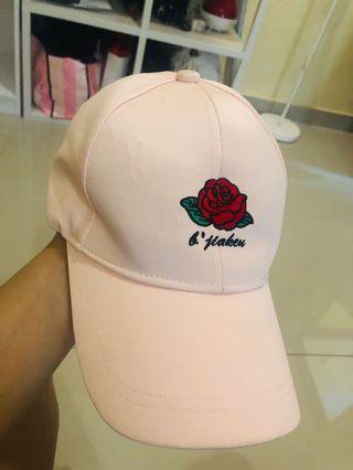 Topi fashion korea satin