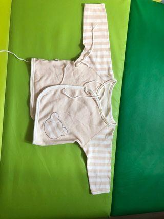 Baby clothes 小熊和尚袍 0-3