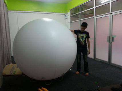big helium balloon 10 ft for advertising