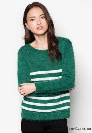 In-Leading Striped Boxy Sweater