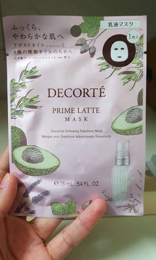 Decorte Luxury mask sheet
