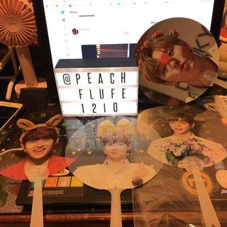 Transparent fan from various fansite