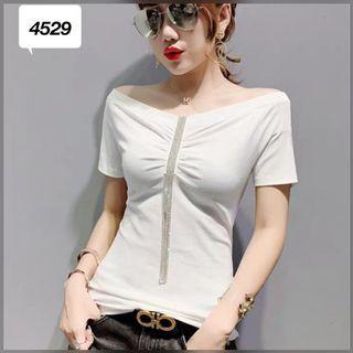 Kaos import wanita murah 4529