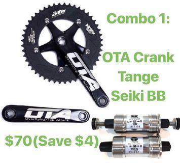 OTA Crank+Tange Seiki BB