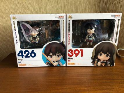 Kancolle Kaga and Akagi Nendoroid