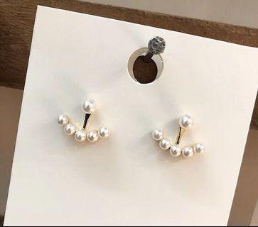 船錨⚓️珍珠耳環