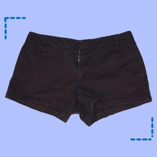 黑色牛仔短褲中腰百搭時尚美國 J. Crew