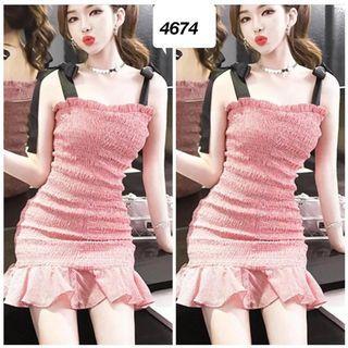 Dress smoke murah 4674
