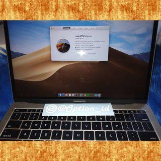 Macbook Pro retina 13 inch 2017 silver MPXR2 MPXQ2 masih garansi infinite