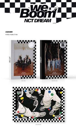 [wts/preorder] nct dream we boom album only without inclusions for both ver