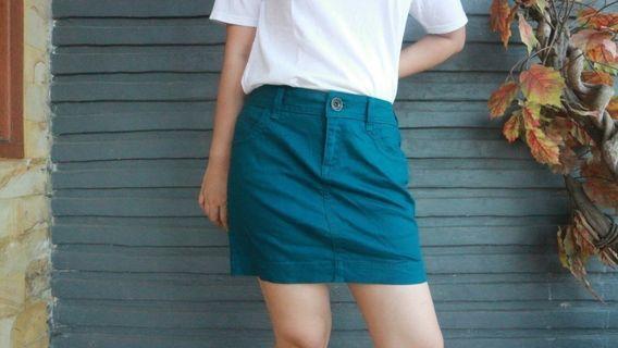 Tosca Mini Denim Skirt