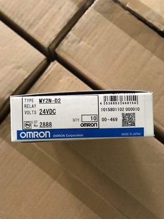 Omron MY2N-D2 24VDC relay