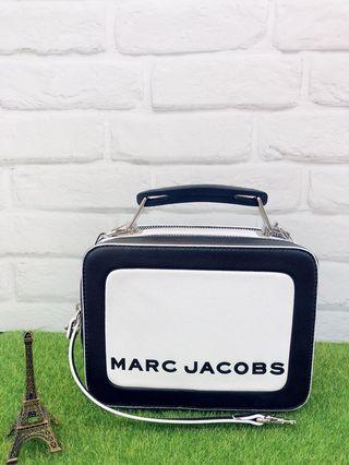 🇮🇹歐洲代購🇮🇹2019 新款 Marc Jacobs 復古雙拉鍊真皮小方包