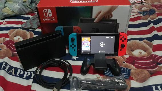 nintendo switch mario | Video Game Consoles | Carousell