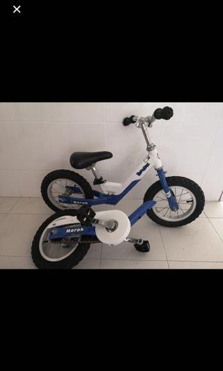 Morph push bike