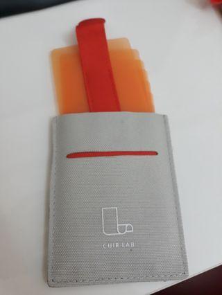 cuir lab 工騰革製所名片夾卡片夾皮夾錢包全新專櫃購入